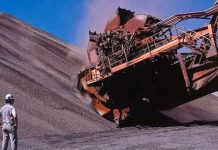 minério de ferro na China